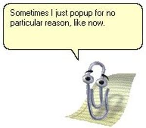 Avere Clippy, la spilletta assistente in MS Word, su proprio desktop